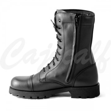 Military Boots with Side Clasp